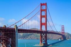 Golden Gate Bridge, San Francisco, California, USA.