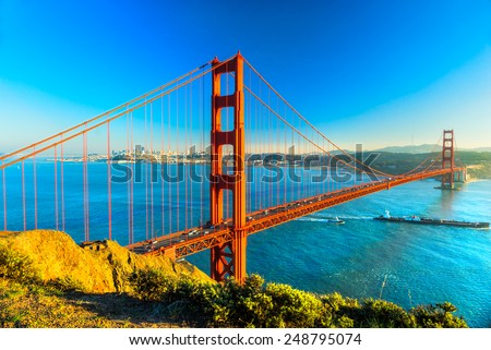 Golden Gate Bridge, San Francisco, California, USA. #248795074