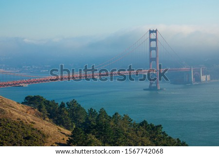 Golden gate bridge. San Fransico. USA. Сток-фото ©