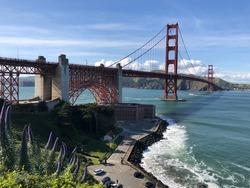 Golden gate Bridge, Sanfrancisco USA