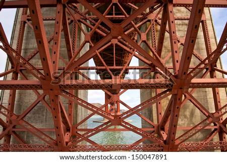 Golden Gate Bridge Structure