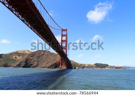 Golden Gate, San Francisco California - stock photo