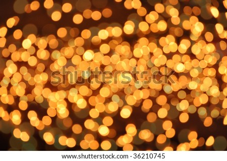 golden glow holiday background