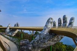 Golden Hand Bridge, Danang, Vietnam