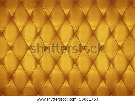 Golden leather pattern