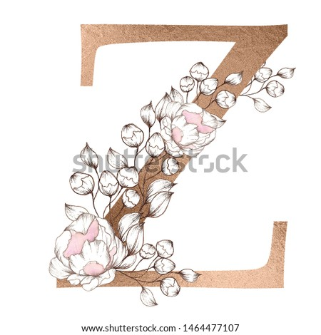 A To Z Alphabet Design Letter