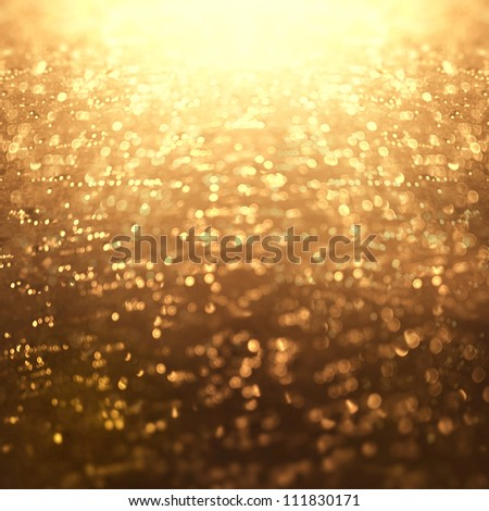 Gold Lights Backgrounds Golden light background