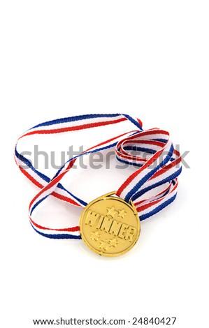 Golden medal for the winner