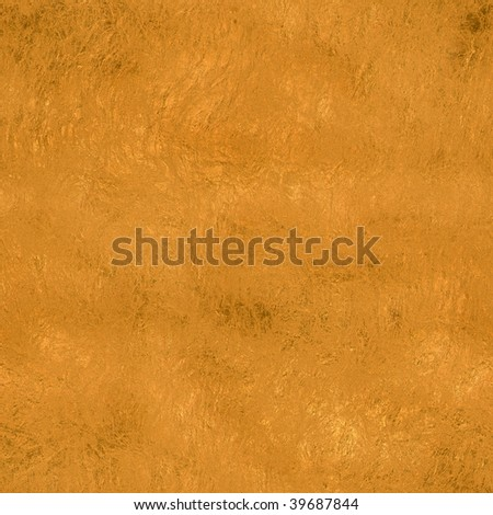 Golden metal texture background in square format