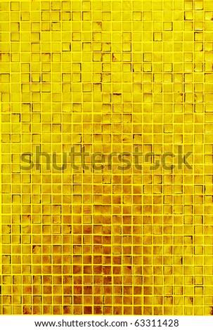 golden mosaic texture