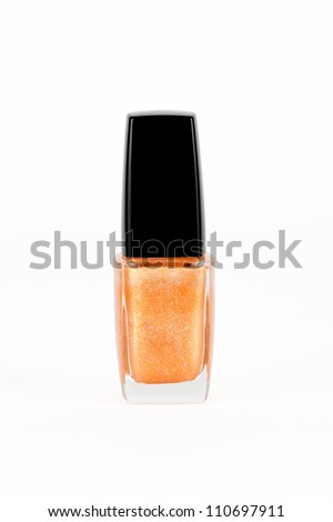 Golden nail polisher