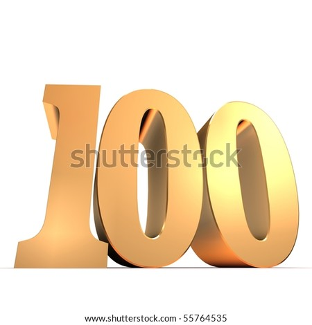 golden number - 100