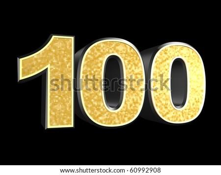 golden number - 100