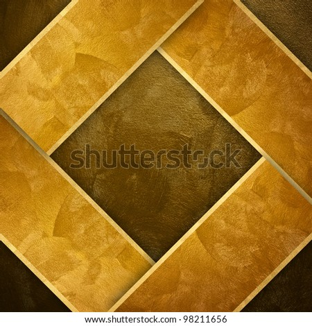 golden paint background with strip