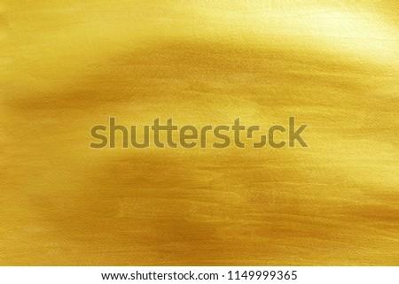 Golden paper texture background.
