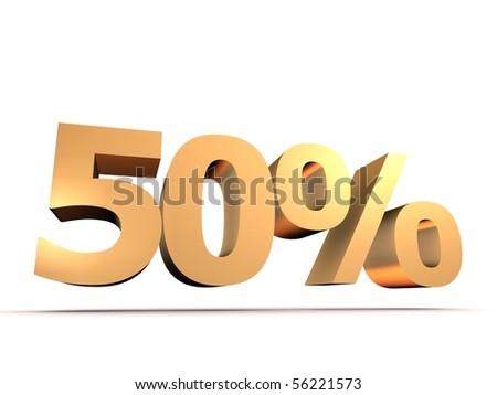 golden 50 percent
