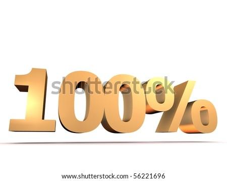golden 100 percent
