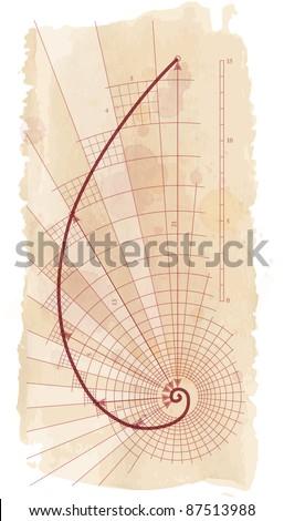 Golden Ratio (Golden Proportion). Bitmap copy my vector id 85338511