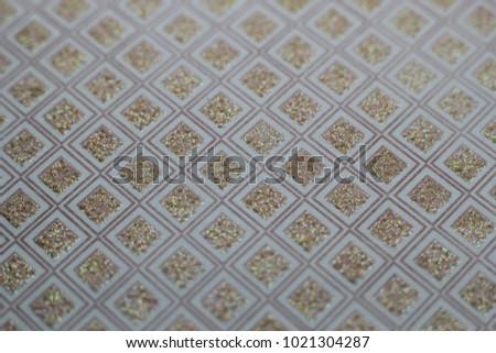 Golden Rhombus Texture #1021304287
