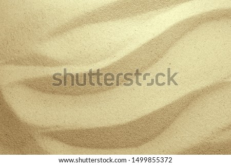 Golden Sand on the beach as background. Sand Texture. Golden sand. Background from fine sand.