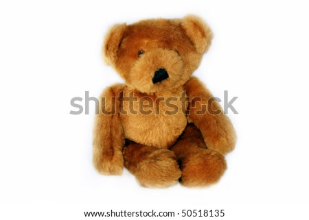 Golden Teddy Bear