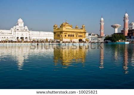 Golden Temple, Amritsar, Punjab, India.