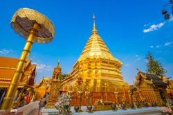 Golden Temple Chiang Mai doi Doi Suthep Buddha
