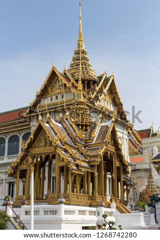 Golden Thai Temples #1268742280