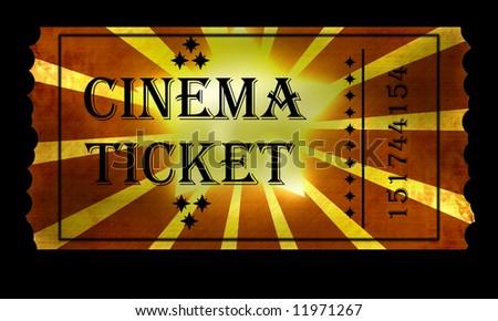 Event Cinemas Logo Golden Ticket For Cinema Event