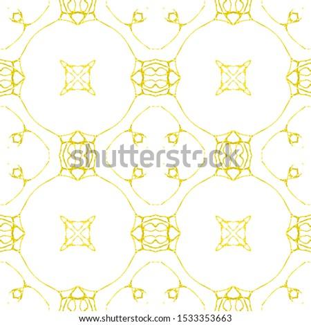 Golden Vintage Seamless Pattern Tile. Ornate Tile Background Ornate Tile Background Golden Tile Embroidery print Antique Element Bright Kaleidoscope Art. Floral Pattern. Floral Design.