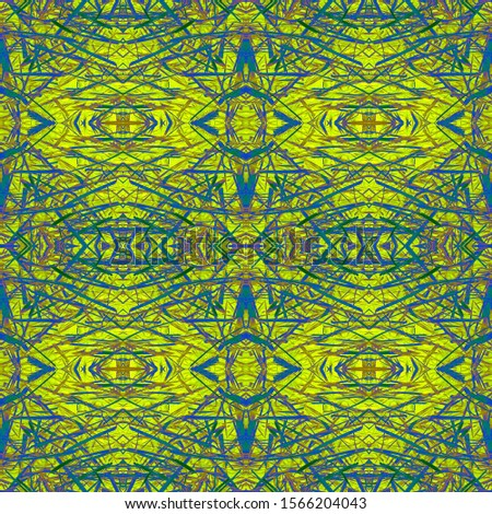 Golden Wedding vintage lace seamless. Ornamental Geometry. Ethnic Ornament Print. Golden Silver Dressing element Dark Texture. Royal Kaleidoscope Art. Floral Elements Floral Elements