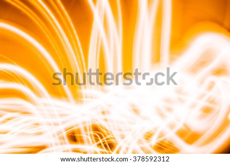 Golden Yellow Florescent Colorful Light Waves Neon Background Black Background Long Exposure LED Lighting Texture Artistic Abstract Colorful Artful timelapse photography