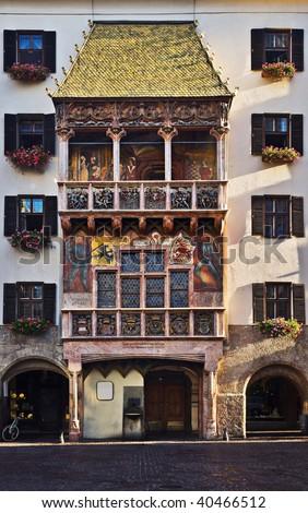 Goldenes Dachl Gold Roof Innsbruck Tirol Austria