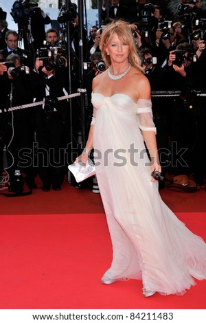 "Goldie Hawn at world gala premiere for ""Indiana Jones and the Kingdom of the Crystal Skull"" at the 61st Annual Cannes Film Festival. May 18, 2008  Cannes, France. Picture: Paul Smith / Featureflash"
