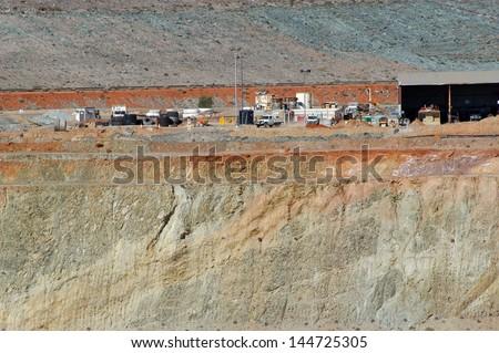 Goldmine of Leonora in the Australia Western