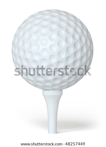 golf ball on a white surface. In my portfolio there is collection of pictures of sport themes. You only enter IN a SEARCH the Photographer Name: PAVEL IGNATOV and keyword: SPORT