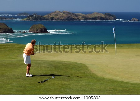 Golf - chip