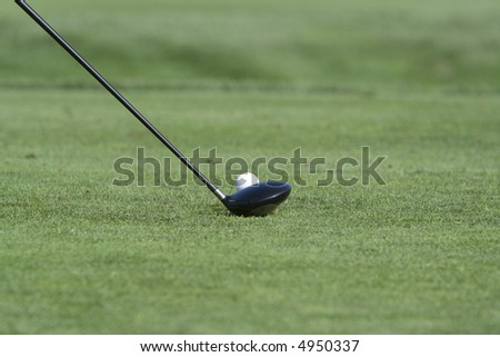 Golf Club and Ball