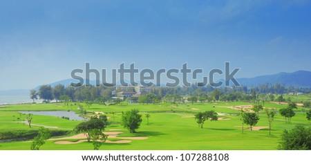 golf club by the sea