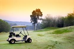 Golf club car : morning feel