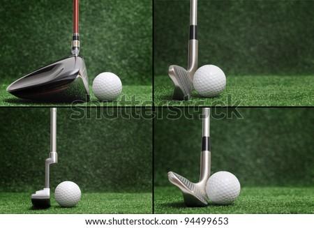 Golf Club Comparison - Different Golf Clubs Stock Photo 94499653 : Shutterstock