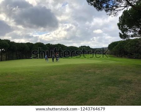 Golf club in Kemer Country Stok fotoğraf ©