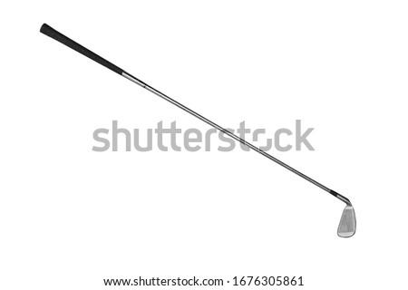 Golf club on white background Photo stock ©