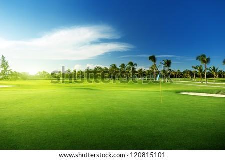 golf course #120815101