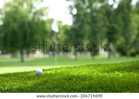 Golf course - Shutterstock ID 206719690