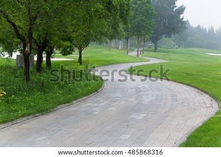 Golf Course - Shutterstock ID 485868316