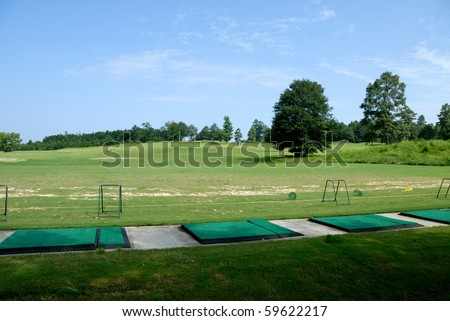 Golf course driving range Georgia