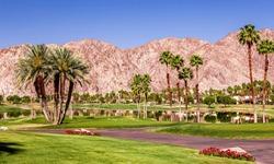 golf course in La Quinta, Palm Springs, California, usa
