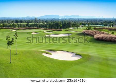 golf course sport, Golfing Holidays in Thailand #235167610