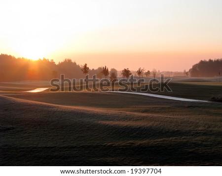Golf Course - Sunrise